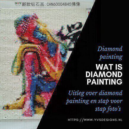 diamond painting- wat is diamond painting- werkwijze diamond painting-stap voor stap diamond painting-diamond painting tips
