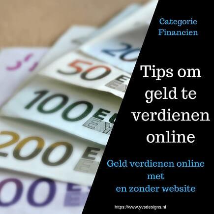 Extra geld verdienen via internet