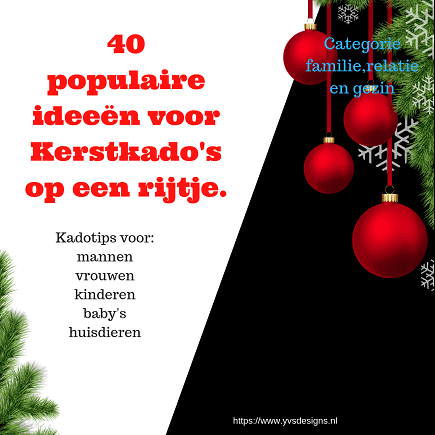 40 Populaire Kerstcadeau Ideeën Op Een Rijtje Ideeën Voor