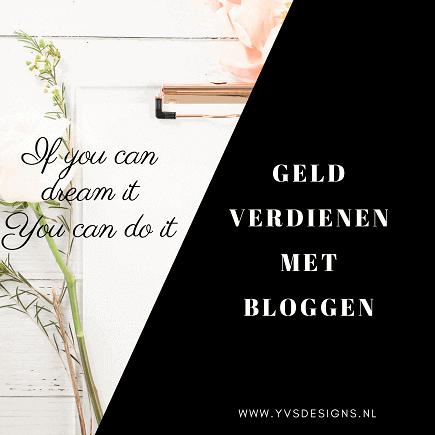bloggen online geld verdienen