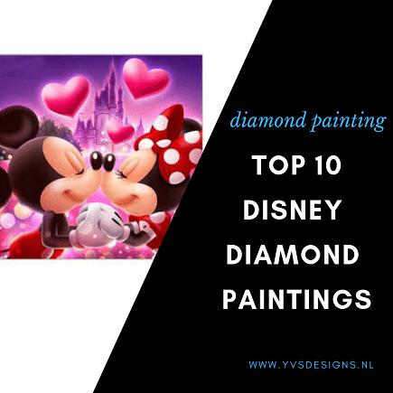 diamond painting disney