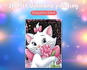 diamond painting disney aristokatten marie