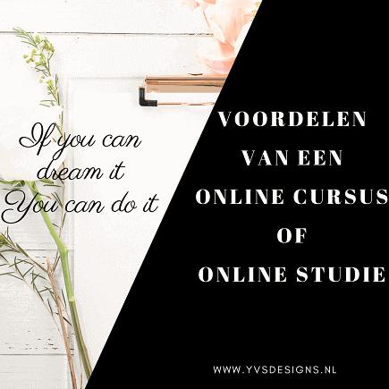online cursus-voordelen-online studeren