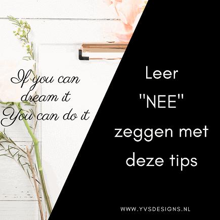 nee zeggen -leer nee zeggen -tips om nee te leren zeggen
