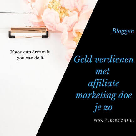 geld verdienen met affiliate marketing-bloggen-affiliate