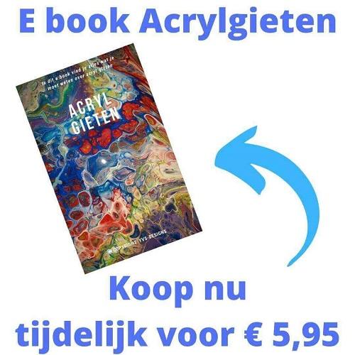 e boek acrylgieten